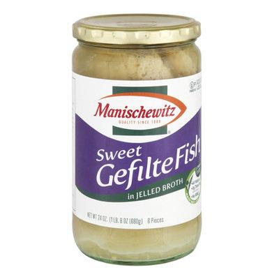 Manischewitz Sweet Gefilte Fish in Jelled Broth