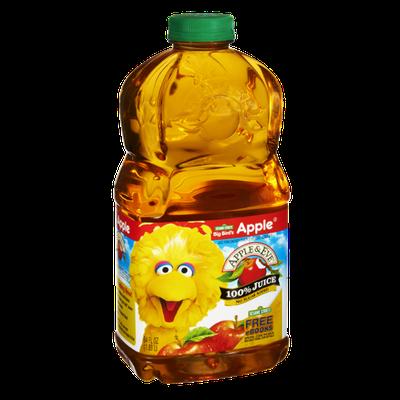 Apple & Eve Sesame Street Big Bird's No Sugar Added 100% Apple Juice