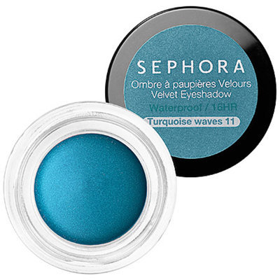 SEPHORA COLLECTION Velvet Eyeshadow N 11 Turquoise Waves 0.17 oz