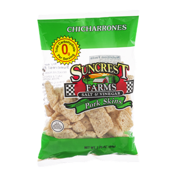 Suncrest Farms Pork Skins Salt & Vinegar