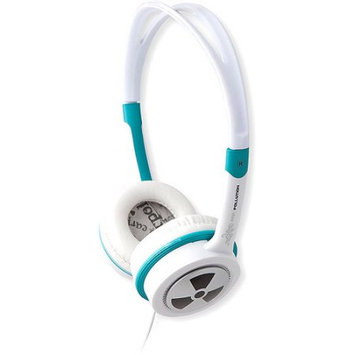 iFrogz EarPollution Toxix Headphones Teal White