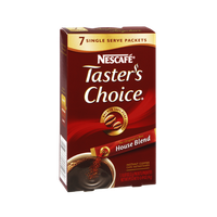 Nescafe Taster's Choice House Blend Instant Coffee Mix - 7 PK