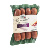 Hillshire Farm Gourmet Creations Premium Beef Smoked Sausage Beef & Bacon with Monterey Jack Cheese