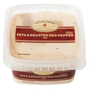 Archer Farms Feta & Roasted Red Pepper Dip 12 oz