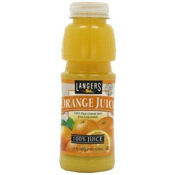 Langers Orange Juice, 16-Ounces (Pack Of 12)