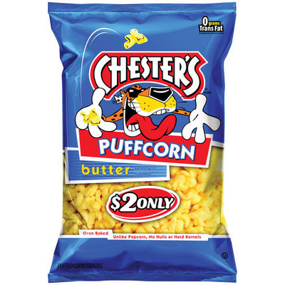 Chester's Puffcorn Butter Puffed Corn Snacks, 4.5 oz