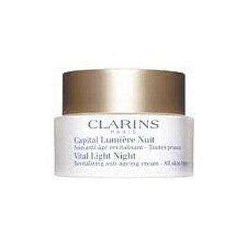 Clarins Vital Light Night Revitalizing Illuminating Anti-Ageing Cream - Lightweight AST 1.7 Oz.