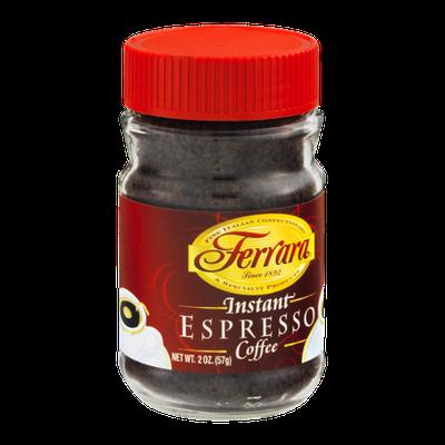 Ferrara Instant Espresso Coffee
