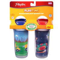 Playtex PlayTime Insulated Spoutless Cup, 2 ea