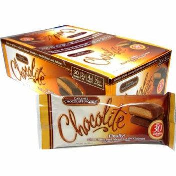 HealthSmart Chocolite Bar Chocolate Peanut Chews Case of 16 24 Grams
