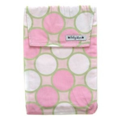 Baby Star Diaper Pouch, Tag Pink