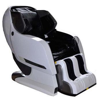 Infinite Therapeutics Infinity Iyashi White Black Zero-Gravity Massage Chair Infinite