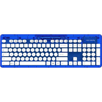 Innex Inc. Innex Rock Candy 904-005-NA-BL 2.4 GHz wireless Keyboard Blueberry Boom