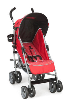 Delta Enterprise Corp Delta Luv LX Stroller - Red Circles
