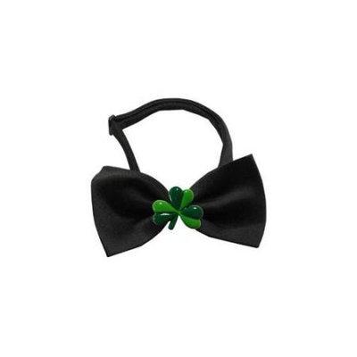 Ahi Shamrock Chipper Black Bow Tie