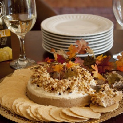 Alder Creek Gifts Pumpkin Spice Cheese Torta, 1 ea