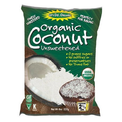 Let's Do Organic Let's Do...Organic Shredded Coconut, Food Service Size, 22-Pound Bag