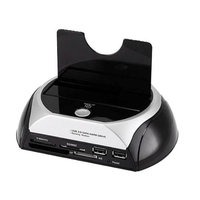 Monoprice SATA HDD USB 3.0 Docking Station w/ Card Reader & 2 Port USB Hub (USB 3.0)