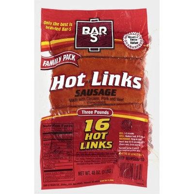 Bar-S: Hot Links Sausage, 48 Oz
