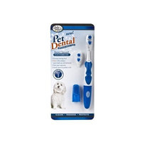 Four Paws PetDental Oral Hygiene Kit with Battery Operated Toothbrush