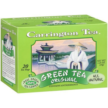 Carrington Original Green Tea Bags, 20ct