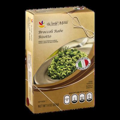 Ahold World Menu Broccoli Rabe Risotto