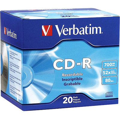 Verbatim 94936 52x CD-R Media