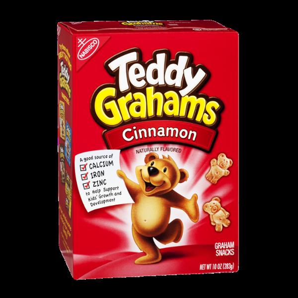 Nabisco Teddy Grahams Cinnamon Graham Snacks