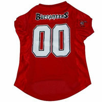 Hunter Tampa Bay Buccaneers Pet Jersey, Large