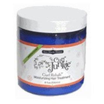 Curl Junkie Curl Rehab Moisturizing Hair Treatment, Gardenia-Coconut Scent, 8 oz.