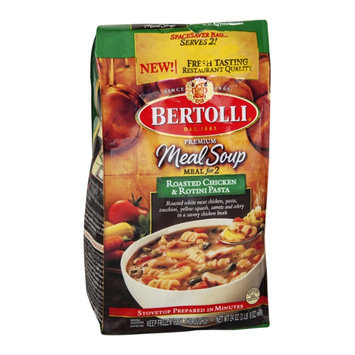Bertolli Meal Soup Meal for 2 Roasted Chicken & Rotini Pasta