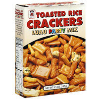Umeya Luau Party Mix Toasted Rice Crackers