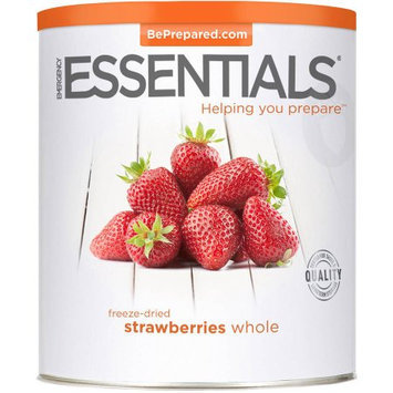 Emergency Essentials Freeze-Dried Whole Strawberries, 5 oz
