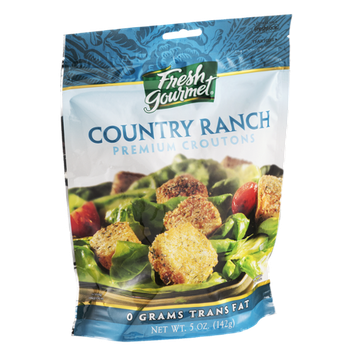 Fresh Gourmet Premium Croutons Country Ranch Flavor