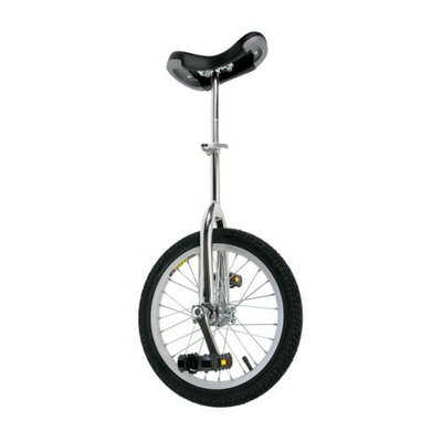 Cycle Force Mighty Adult 16 Unicycle - Black