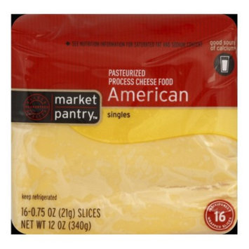 Market Pantry American Cheese Singles - 16 ct. 12 oz.