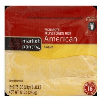 Market Pantry American Cheese Singles - 16 ct. 12 oz.