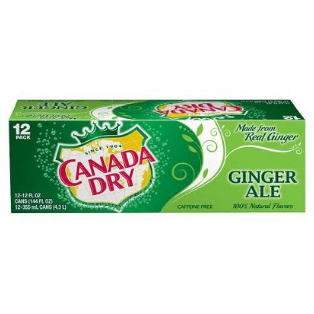 Canada Dry Ginger Ale 12 oz, 12 pk