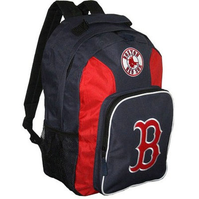 CONCEPT ONE MLB Boston Red Sox Team Color Backpack - School Supplies