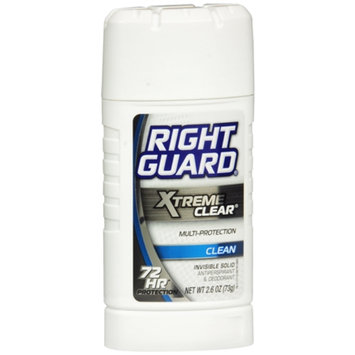 Right Guard Xtreme Antiperspirant & Deodorant Invisible Solid Clean
