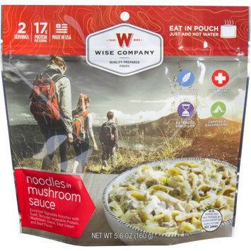 Wise Company Inc Wise Company Noodles in Mushroom Sauce Prepared Meal, 5.6 oz