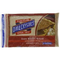 Dixie Crystals ® Dixie Crystals Dark Brown Sugar, 2-Pound (Pack of 6)