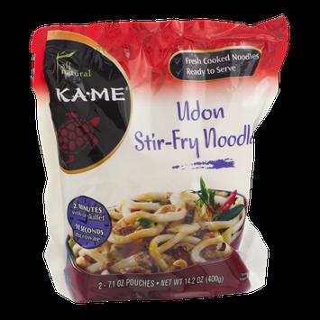 Ka-Me All Natural Udon Stir-Fry Noodles - 2 CT