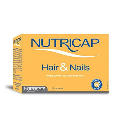 Nutricaps Hair & Nails Supplement, 40 Capsules