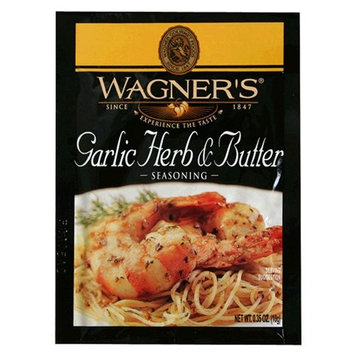 Wagner's Wagner Garlic Herb & Butter Seasoning Mix, .35-Ounce Packets (Pack of 12)