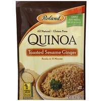 Roland Toasted Sesame Ginger Quinoa, 5.46 oz (Pack of 6)