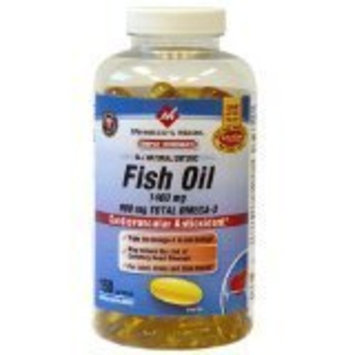 Members Mark Member's Mark - Omega 3, Fish Oil 1400 mg (900 mg EPA/DHA), Enteric Coated, 150 Softgels