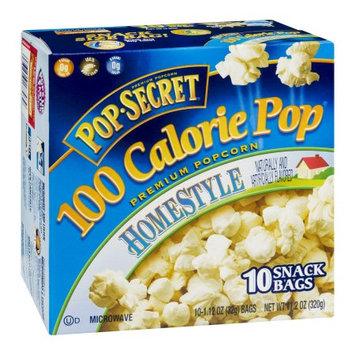 Pop-secret Pop Secret 100 Calorie Homestyle Microwavable Popcorn, 11.2 OZ (Pack of 6)