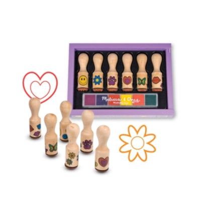 Melissa and Doug Happy Handle Stamp Set Ages 4+