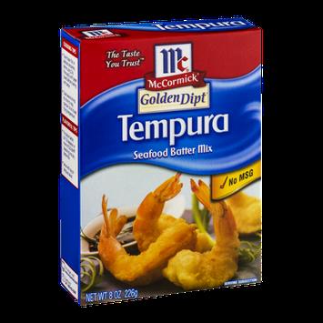 McCormick® Golden Dipt® Tempura Seafood Batter Mix